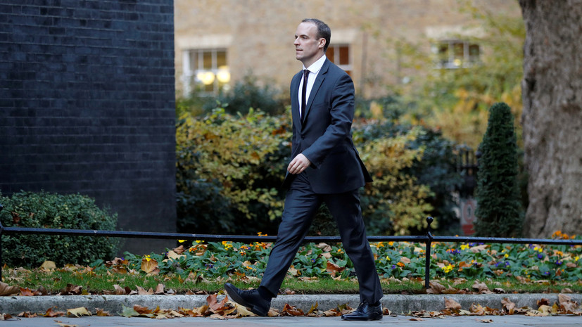 Британский министр по вопросам брексита объявил об отставке