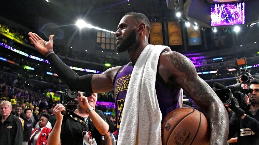 «Стремление к величию»: Леброн Джеймс поднялся на пятое место среди самых результативных игроков в истории НБА
