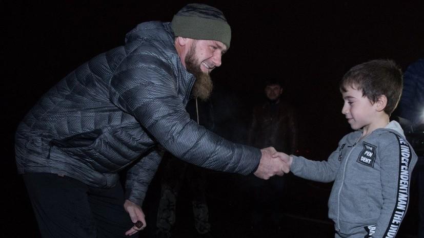 Кадыров проведёт тренировку с отжавшимся более 4 тысяч раз мальчиком