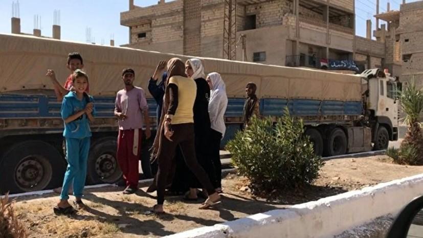 Минобороны: США ответственны за катастрофическую ситуацию в лагере «Эр-Рукбан»