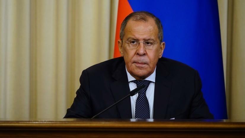 Лавров заявил о попытках превратить Балканы в «плацдарм против России»