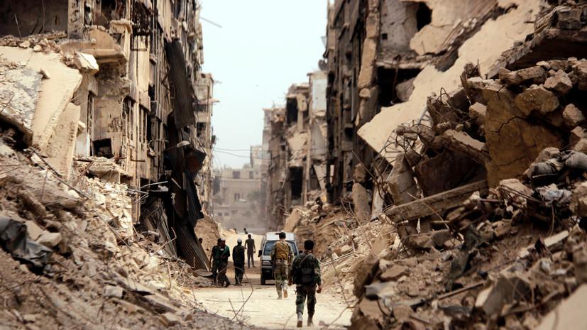 SANA: в результате авиаударов коалиции в Сирии погибли 40 человек