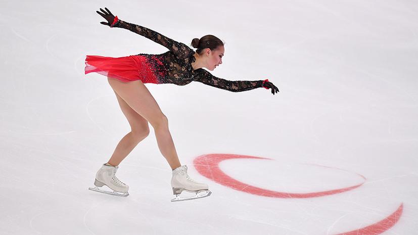 Закономерное золото: Алина Загитова и пара Тарасова — Морозов выиграли российский этап Гран-при по фигурному катанию