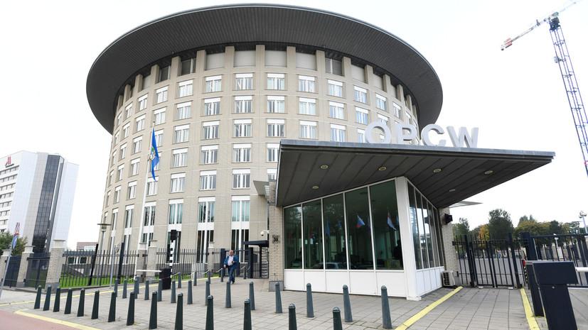Лавров раскритиковал попытки наделить ОЗХО функциями обвинителя