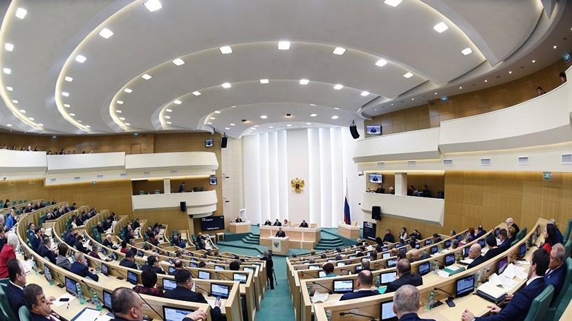 В Совфеде ответили на заявление Порошенко о новой морской охране