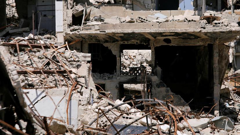 SANA: коалиция США применила белый фосфор при ударе по Сирии