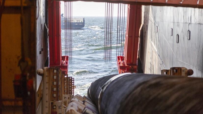 Nord Stream 2 построила около 250 км газопровода «Северный поток — 2»