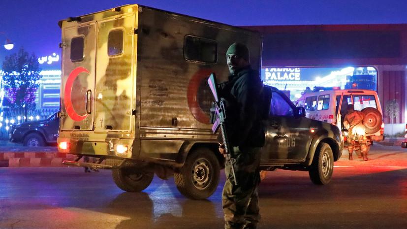 Более 20 человек погибли при взрыве в афганской мечети