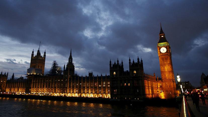 «Недопустимые формулировки Лондона вошли в традицию»: в Великобритании заявили об «угрозе» со стороны России