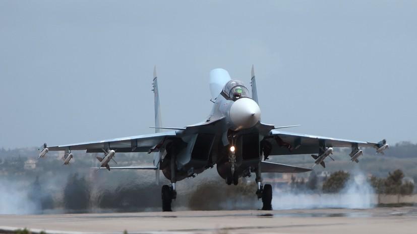 ВКС России нанесли удары по позициям обстрелявших Алеппо боевиков