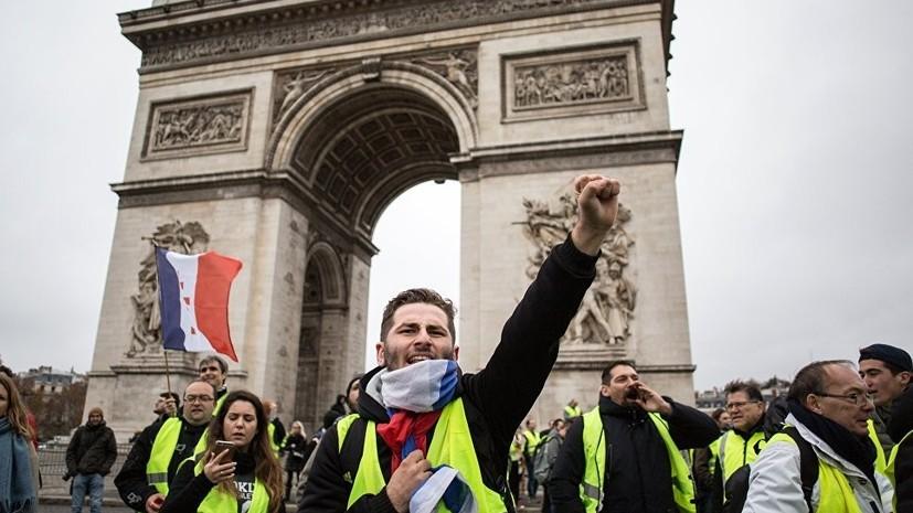 Трансляции Sputnik c акций протеста во Франции набрали более 2 млн просмотров