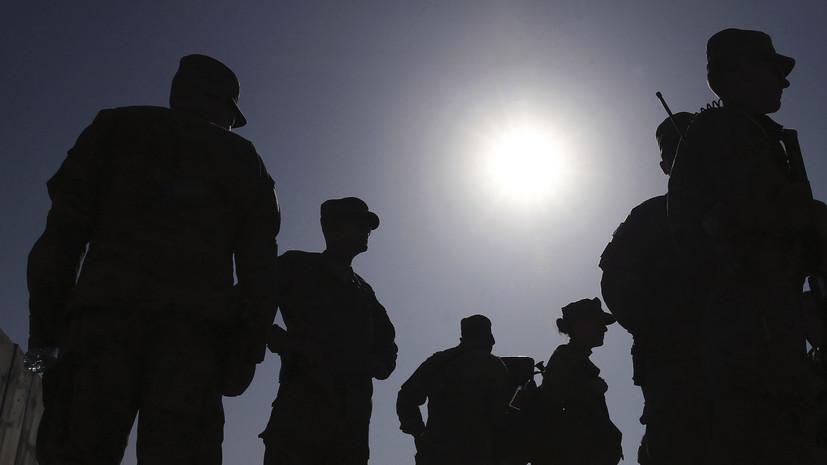 В Афганистане погибли трое солдат США
