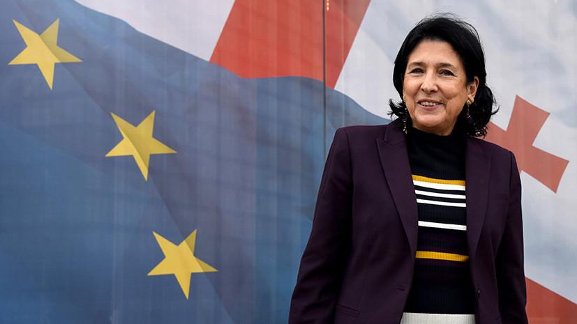 Картинки по запросу Новый президент Грузии Саломе Зурабишвили фото