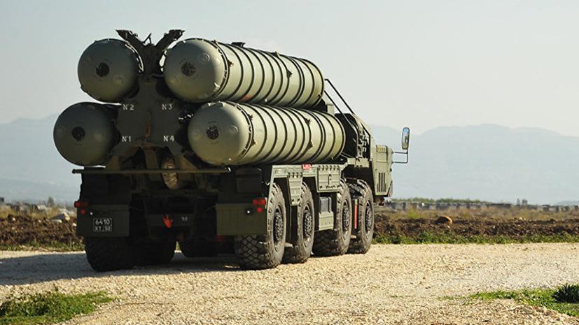 На боевое дежурство в Крыму заступил ещё один дивизион С-400