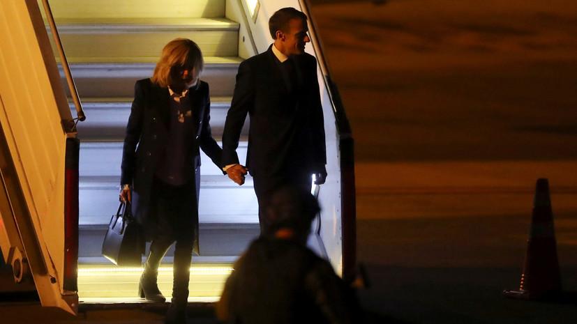 ВАргентине невстретили Макрона, прилетевшего насаммит G20