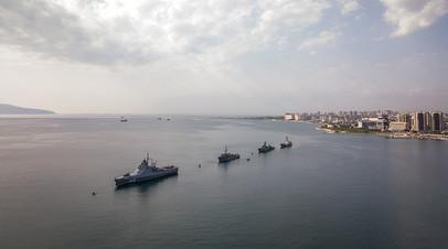 Российские корабли в Чёрном море