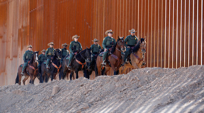 Военные должны усилить силовые ведомства МВБ США, которые занимаются охраной южной границы