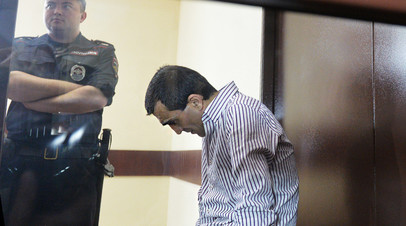 Грачья Арутюнян в ходе судебного процесса, архивное фото
