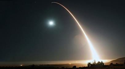 Запуск ракеты Minuteman III