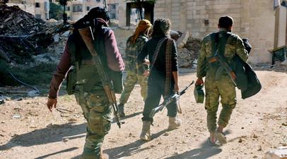 Боевики ИГ* в Афганистане