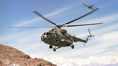 «Придётся обратиться к Москве»: как США намерены проводить капитальный ремонт российских Ми-17 в Афганистане