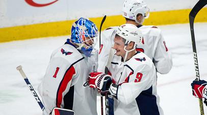Передача Орлова не помогла «Вашингтону» избежать поражения от «Виннипега» в НХЛ
