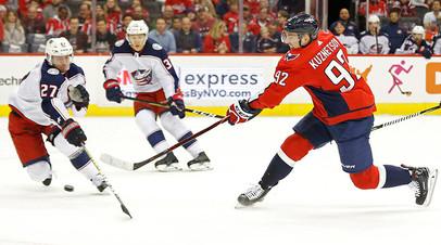 Кузнецов получил травму в матче НХЛ с «Виннипегом»