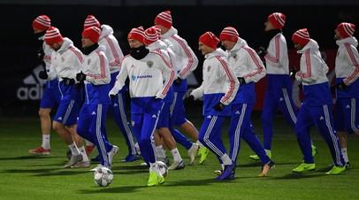 Сборная России по футболу обратилась к болельщикам перед матчем с Германией