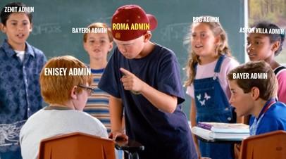«Рома» назвала «Енисей» командой дня в Twitter