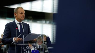 Туск сообщил о проведении саммита ЕС по брекситу 25 ноября