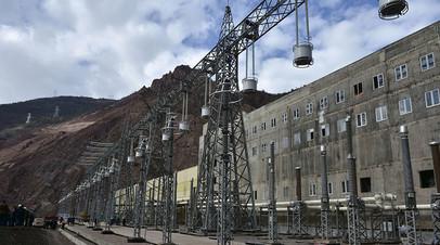 Дамба Рогунской ГЭС