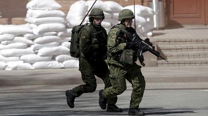 Военнослужащие ВС Литвы
