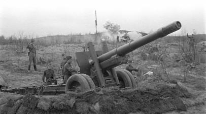 Пушка-гаубица 152-мм МЛ-20