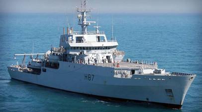 Британский военный корабль HMS Echo