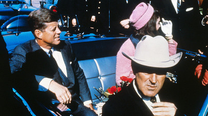 Джон и Жаклин Кеннеди в Далласе, 22 ноября 1963 г.