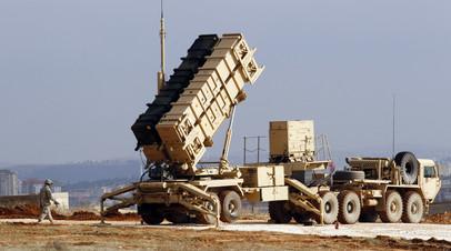 Американский комплекс ПВО Patriot