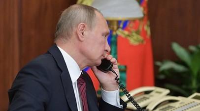 В Кремле подтвердили запрос Киева на беседу Порошенко и Путина