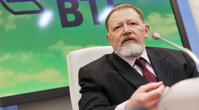 Председатель наблюдательного совета банка ВТБ Сергей Дубинин