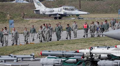 Совместные военные учения Украины и США