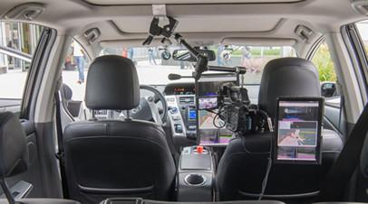 Беспилотные авто начнут тестировать в 2019 году на трассе М11