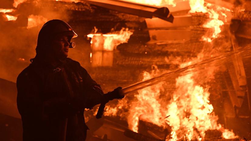 В Приморском крае три человека погибли при пожаре в доме