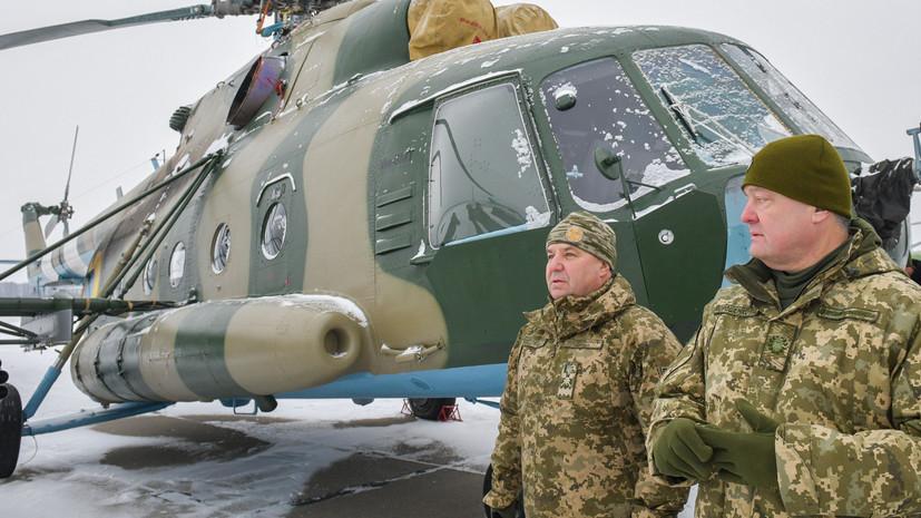 Порошенко обвинил Россию в намерении захватить Бердянск и Мариуполь