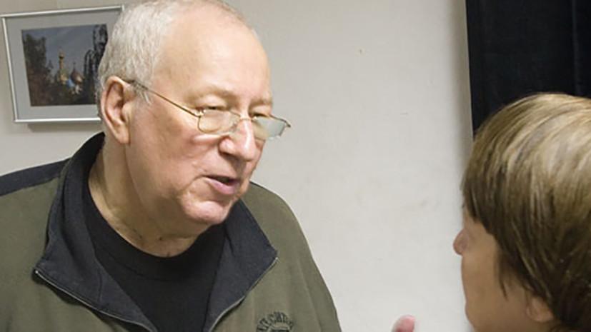 Умер худрук театра «Международная Чеховская лаборатория» Виктор Гульченко