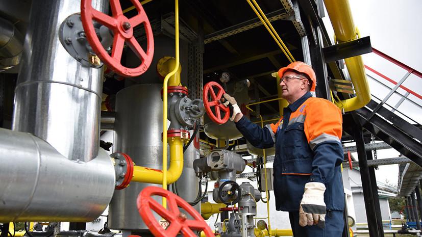 Украина снизила импорт газа практически начетверть