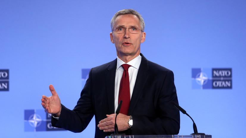 В НАТО заявили о наращивании присутствия в Чёрном море