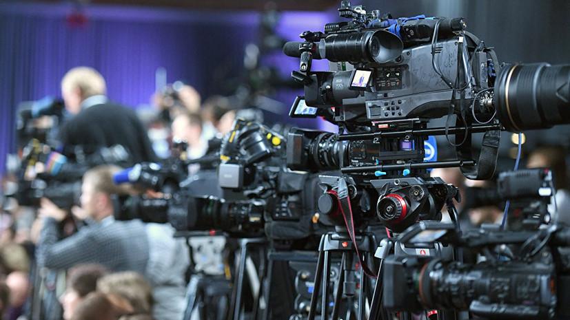 Радикалы в Киеве попытались заблокировать работу телеканала