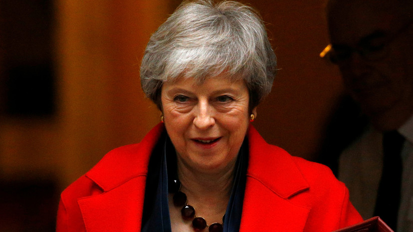 Мэй заявила, что Лондон продолжит выступать за усиление антироссийских санкций