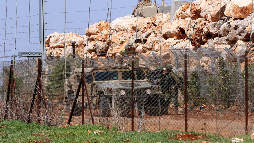 Израиль начинает операцию на границе с Ливаном