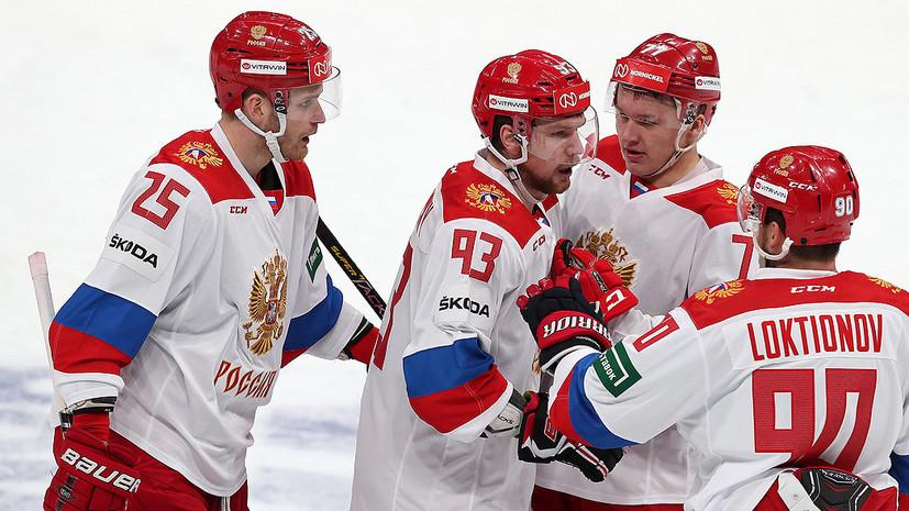 Воробьёв назвал состав сборной России на матчи Кубка Первого канала