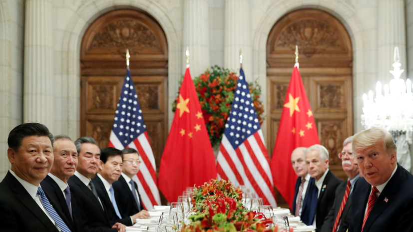 Трамп сообщил о начале торговых переговоров с Китаем